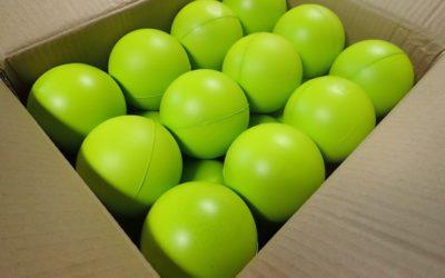 Groene bolletjes van Yoast
